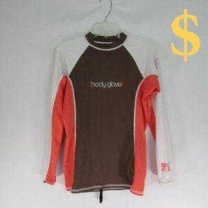 Body Glove UV Protection LS Swim Surf Shirt Large
